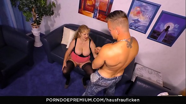 German, Grannies, Cum on tits, Cheat, Younger