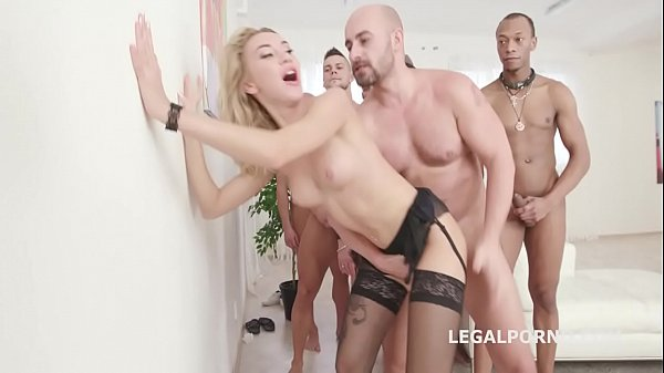 Double anal, Gangbang anal, G-queen