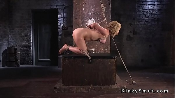 Whip, Hogtied, Whipped, Blonde ass