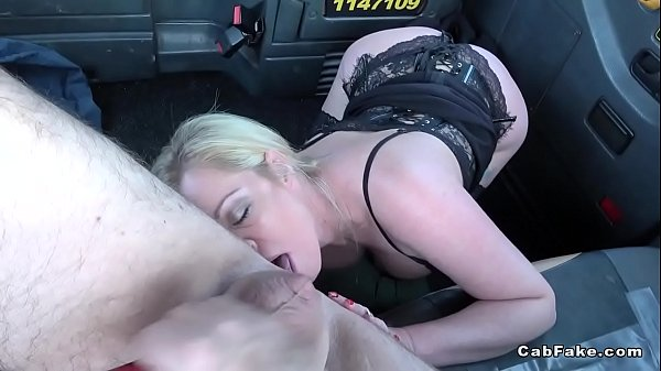 Fake taxi, Lingerie, Rimming