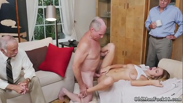 Foot fetish, Young and old, Old guy, Old young