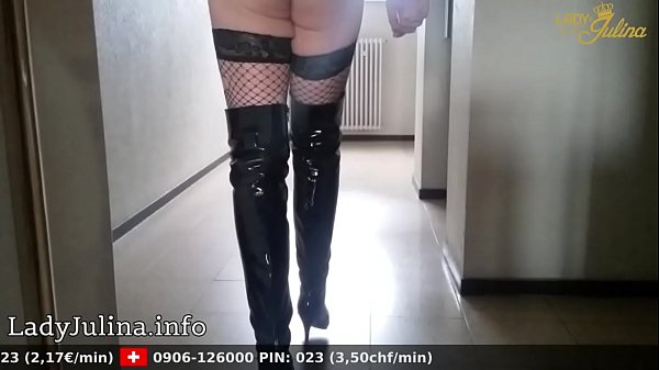 High heels, Boot, Train, Stock, Cage, Fishnet