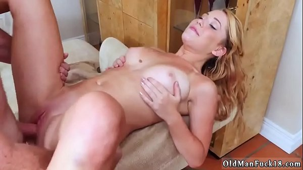 Huge tits, Old woman