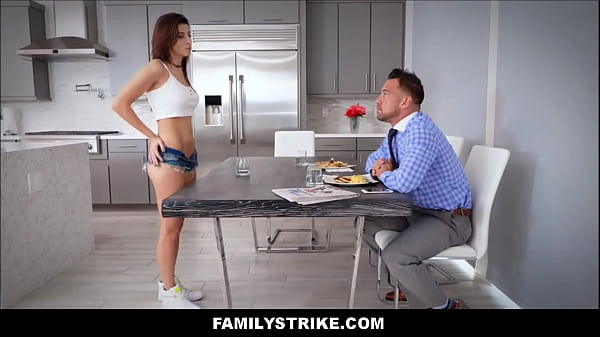 Mom and daughter, Dad fuck