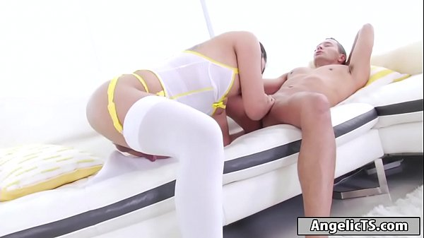 Milky, Asian ass, Asian shemale, Ass lick