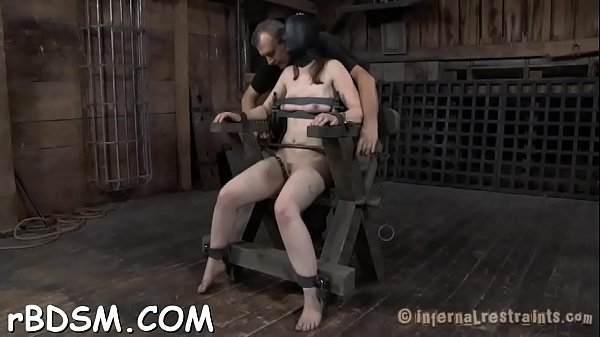 Open pussy, Tied up, Tied