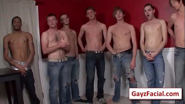Bukkake, Gay boy
