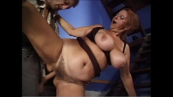 Big boobs, Mature woman